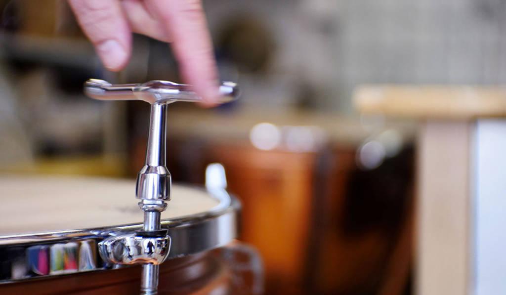 entretien réparation batterie cymbale